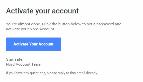 NordVPNメール